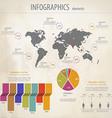 Minimal infographics 4 vector