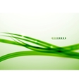 Green lines abstract background template vector