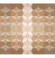 Brown seamless triangle abstract background vector