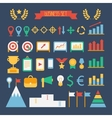 Business and finance infographic design elements vector
