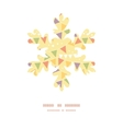 Party decorations bunting christmas snowflake vector