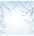 The branches of the snow vector