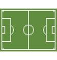 Pixel art style football sport field soccer vector