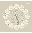 Calendar grid 2014 for your design vector