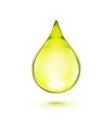 Oil drop vector