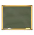Retro school chalkboard vector