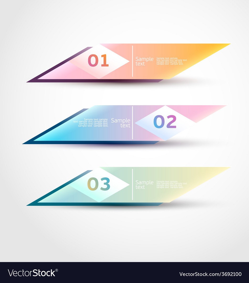 Modern banners vector | Price: 1 Credit (USD $1)
