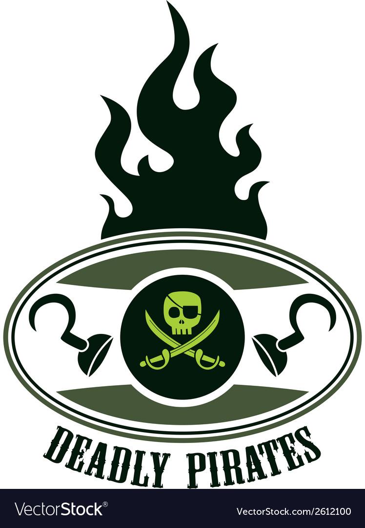 Pirate design elements vector   Price: 1 Credit (USD $1)