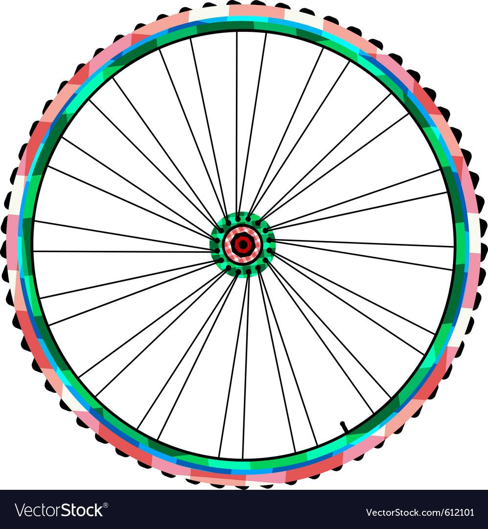 Bicycle wheels vector | Price: 1 Credit (USD $1)