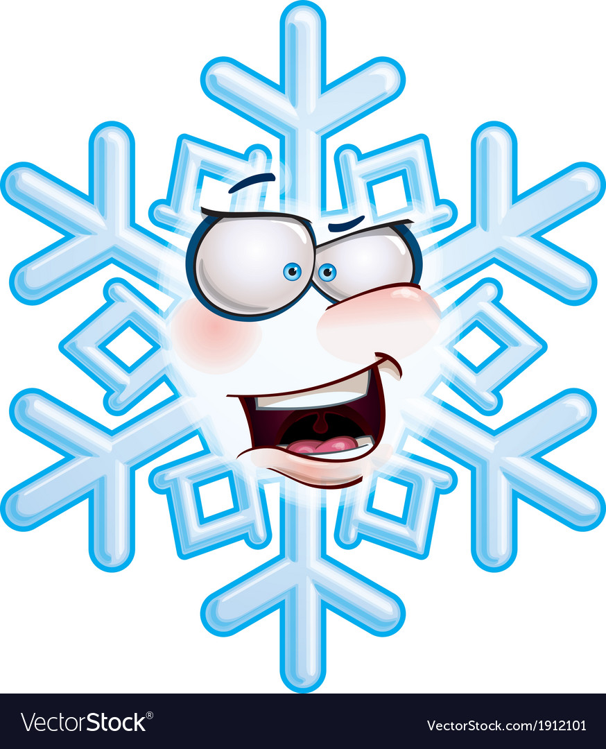Snowflake head aha vector | Price: 1 Credit (USD $1)