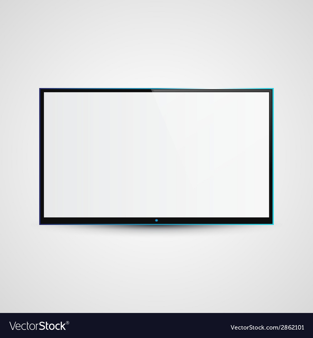 Tv flat screen icd vector | Price: 1 Credit (USD $1)