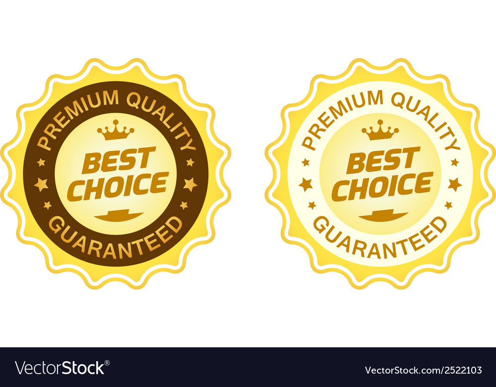 Best choice label vector | Price: 1 Credit (USD $1)