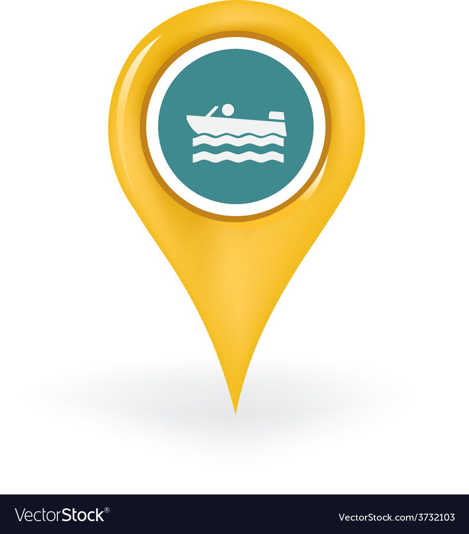 Boating location vector | Price: 1 Credit (USD $1)
