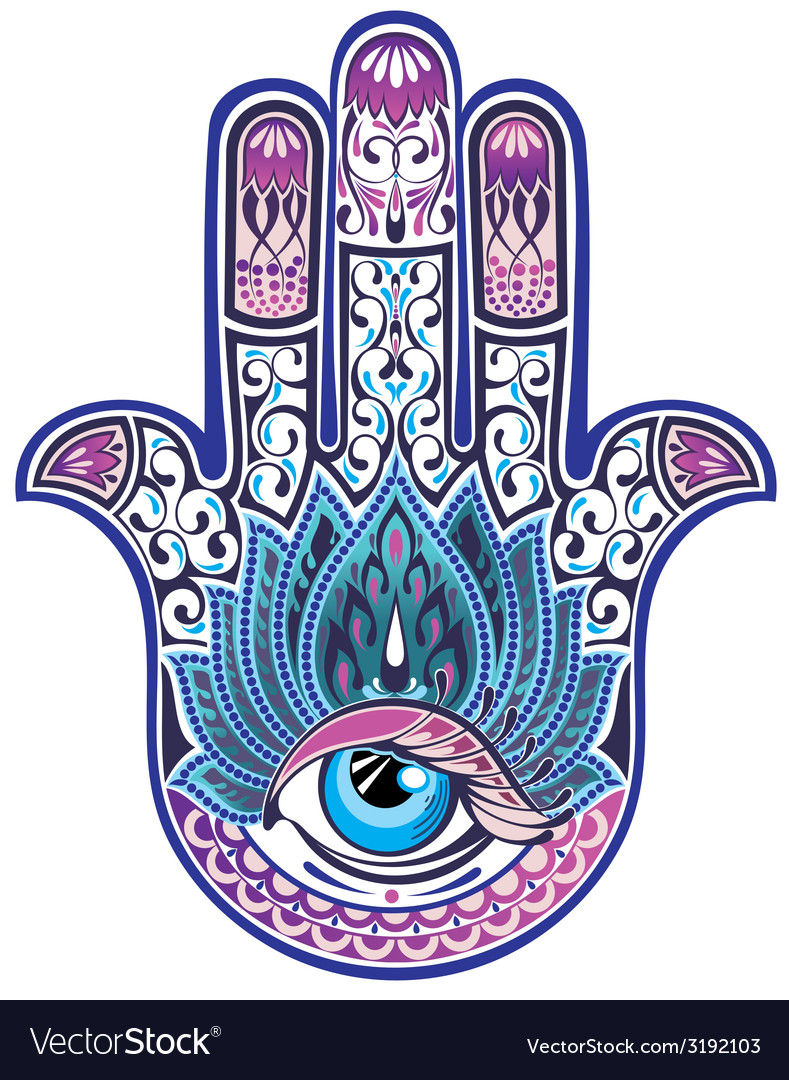 Hamsa hand vector | Price: 1 Credit (USD $1)