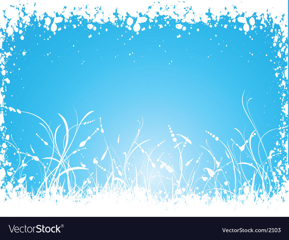 Winter foliage vector | Price: 1 Credit (USD $1)