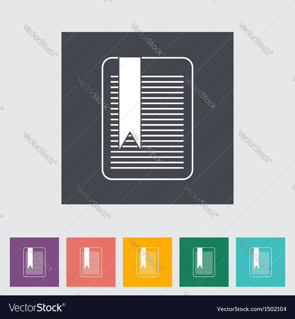 Bookmark vector | Price: 1 Credit (USD $1)