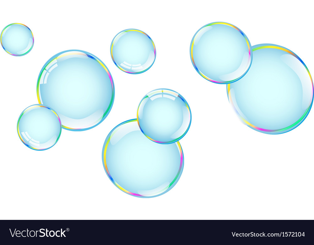 Bubbles with overflow vector | Price: 1 Credit (USD $1)