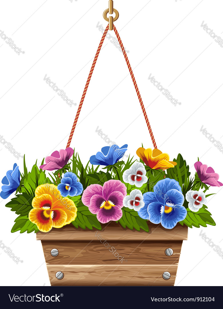Flowerpot vector | Price: 3 Credit (USD $3)