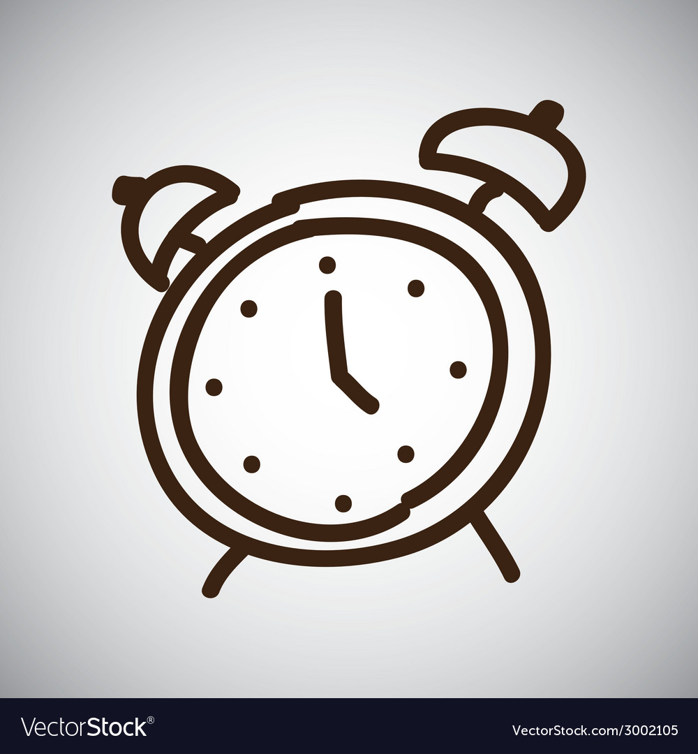 Alarm design vector | Price: 1 Credit (USD $1)