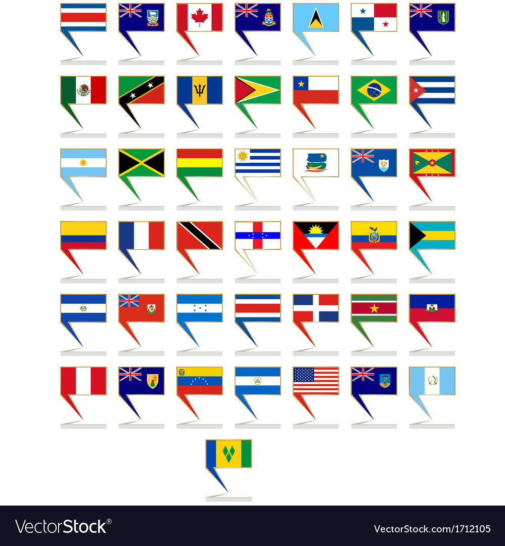 Badges with flags of america vector   Price: 1 Credit (USD $1)