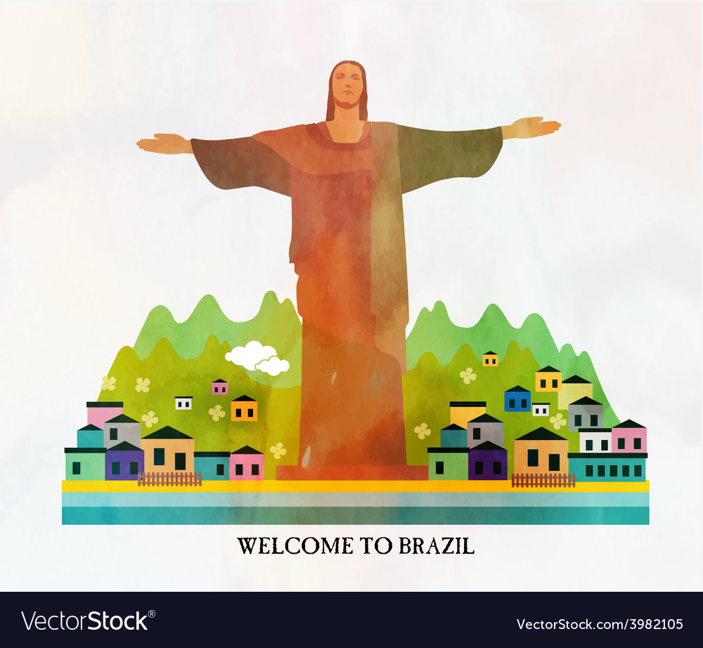 Brazil card vector | Price: 1 Credit (USD $1)