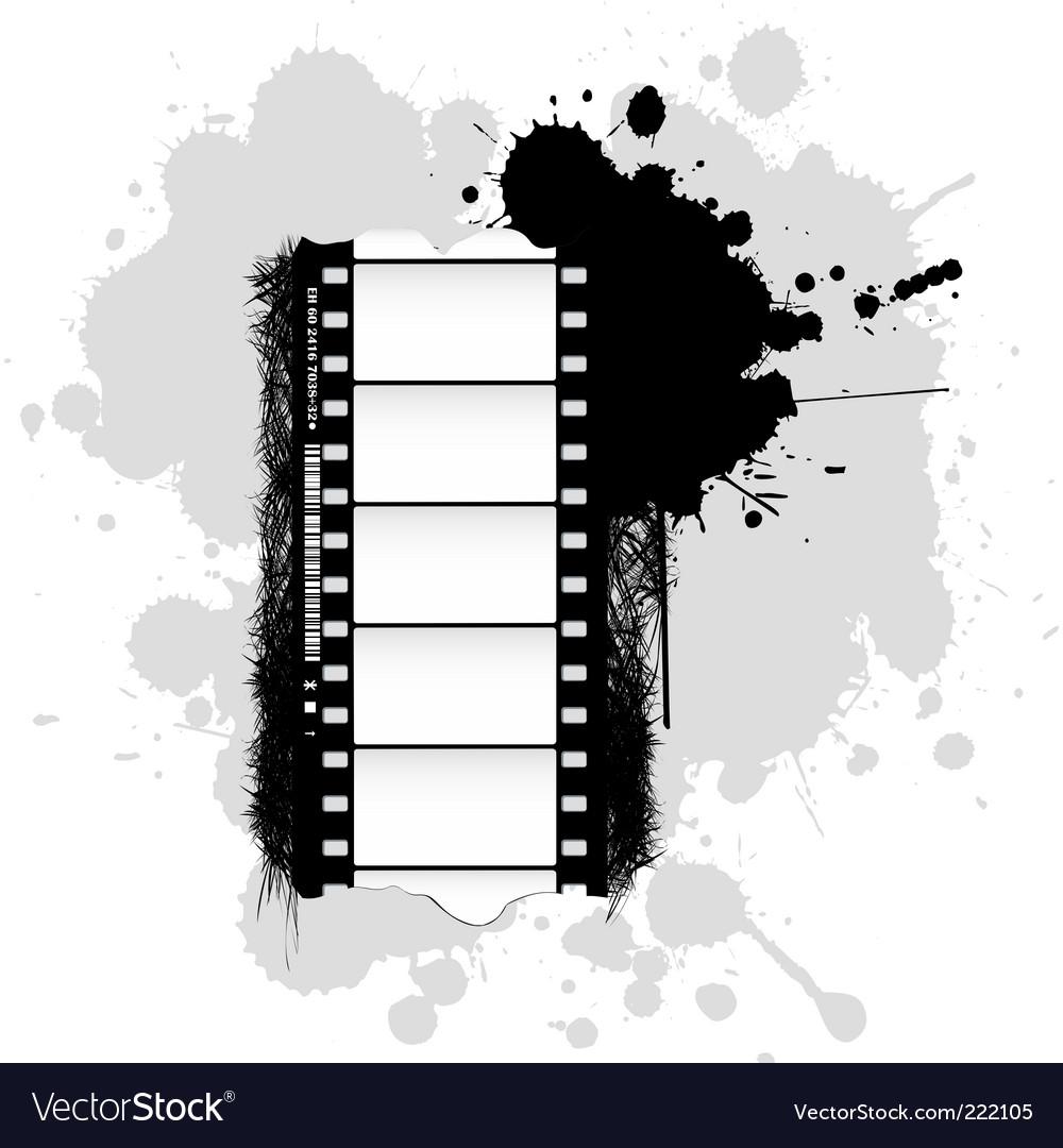 Grunge film background vector | Price: 1 Credit (USD $1)