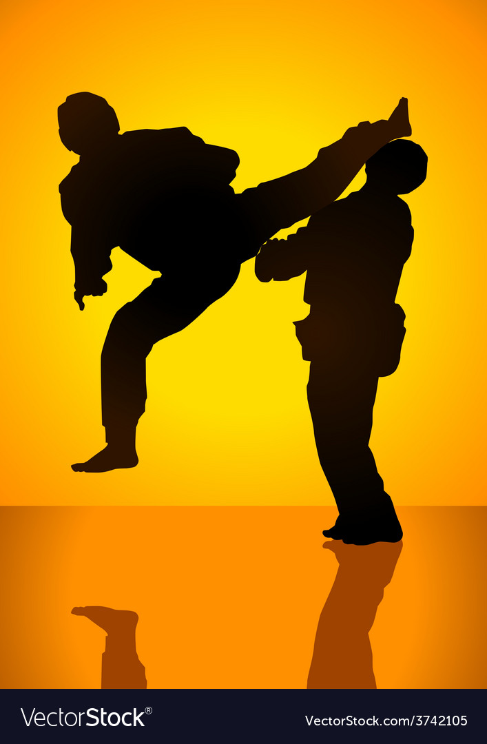 Martial art vector | Price: 1 Credit (USD $1)