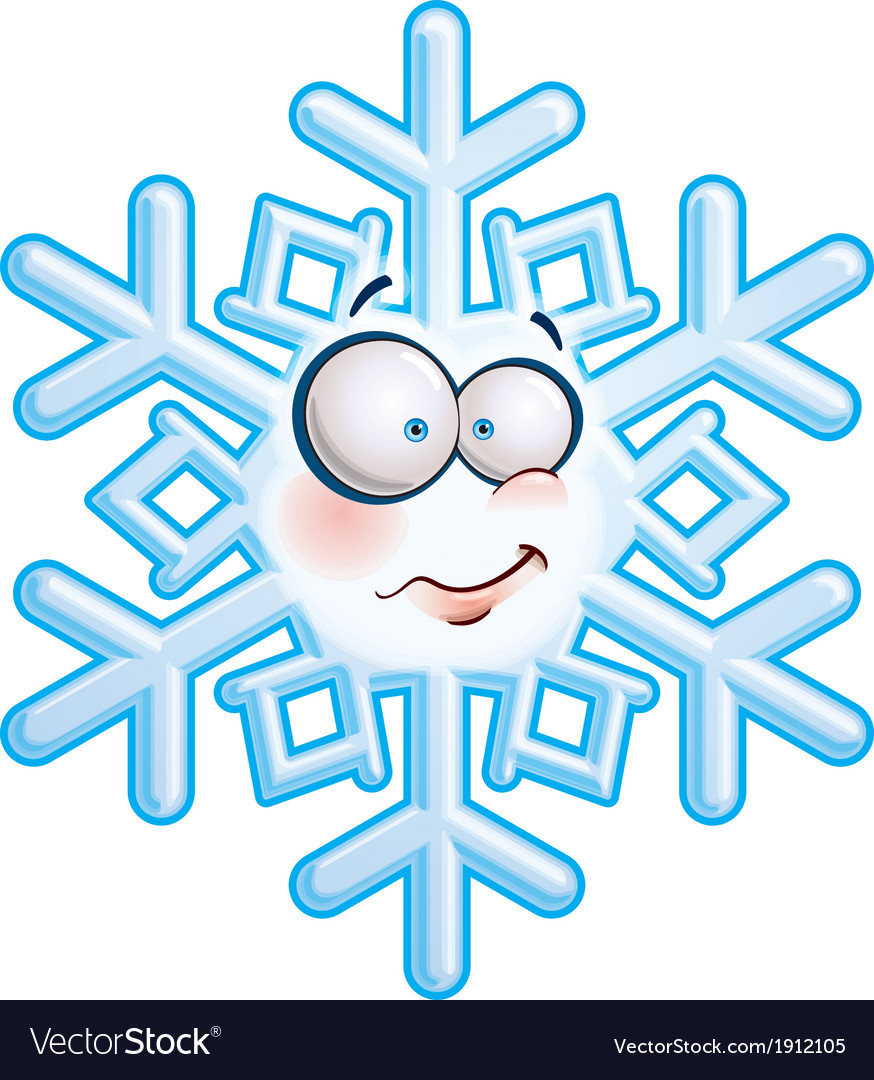 Snowflake head heh vector   Price: 1 Credit (USD $1)
