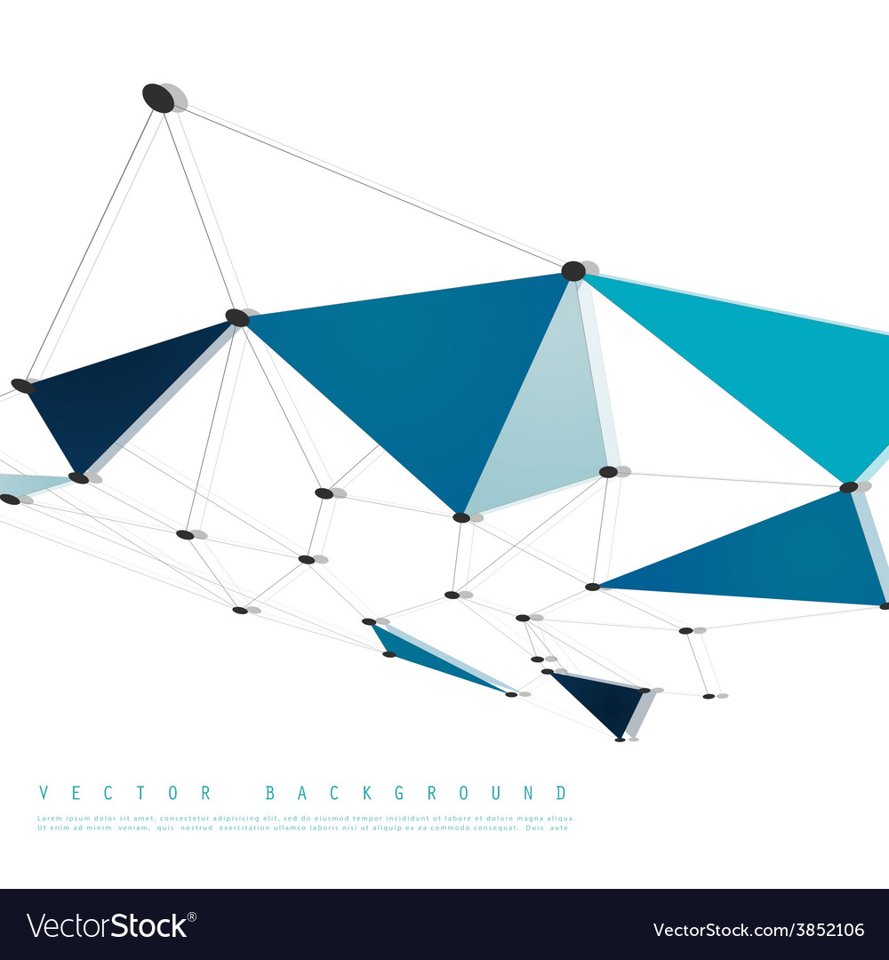 Network background abstract polygon vector   Price: 1 Credit (USD $1)