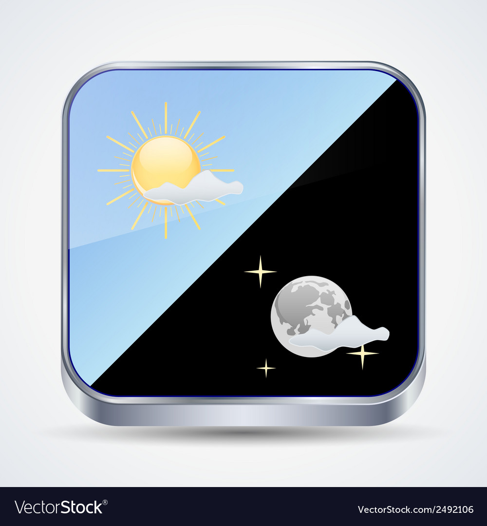 Weather forecast icon vector | Price: 1 Credit (USD $1)