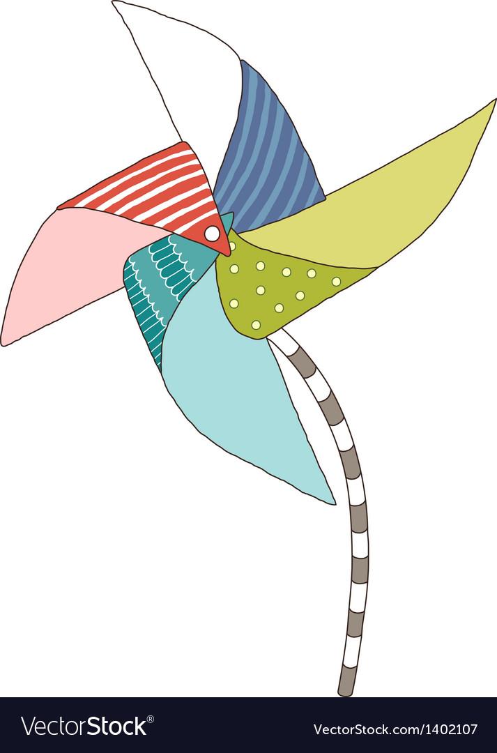 A view of pinwheel vector   Price: 1 Credit (USD $1)