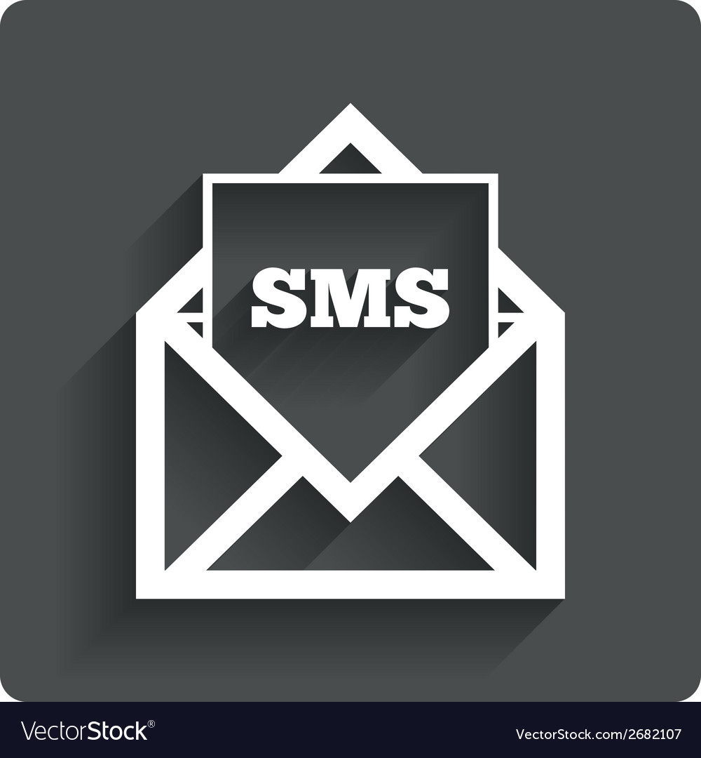 Mail icon envelope symbol message sign vector | Price: 1 Credit (USD $1)