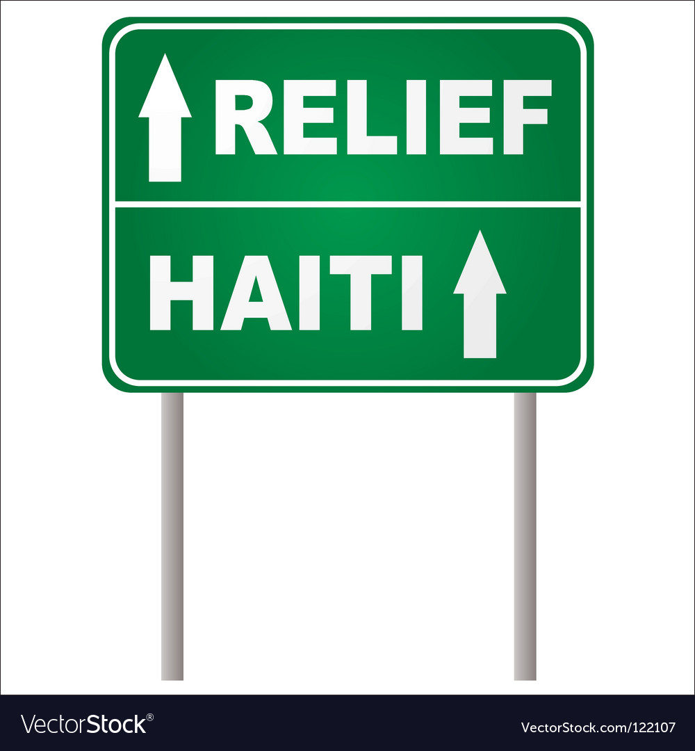 Relief sign vector | Price: 1 Credit (USD $1)