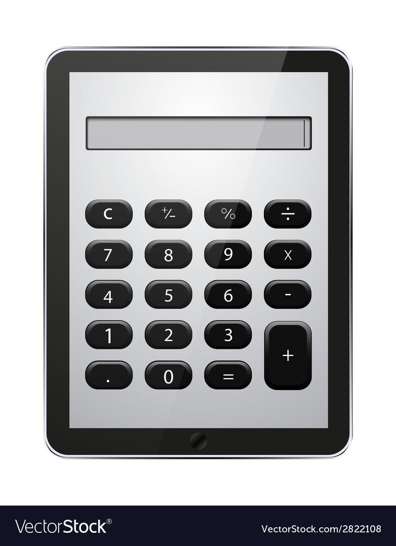 Concept computer tablet vector | Price: 1 Credit (USD $1)