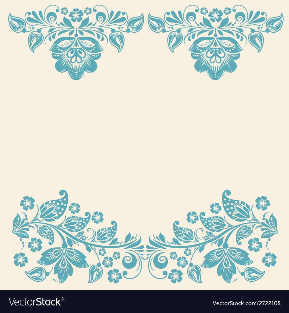 Russian ornaments art frames vector | Price: 1 Credit (USD $1)