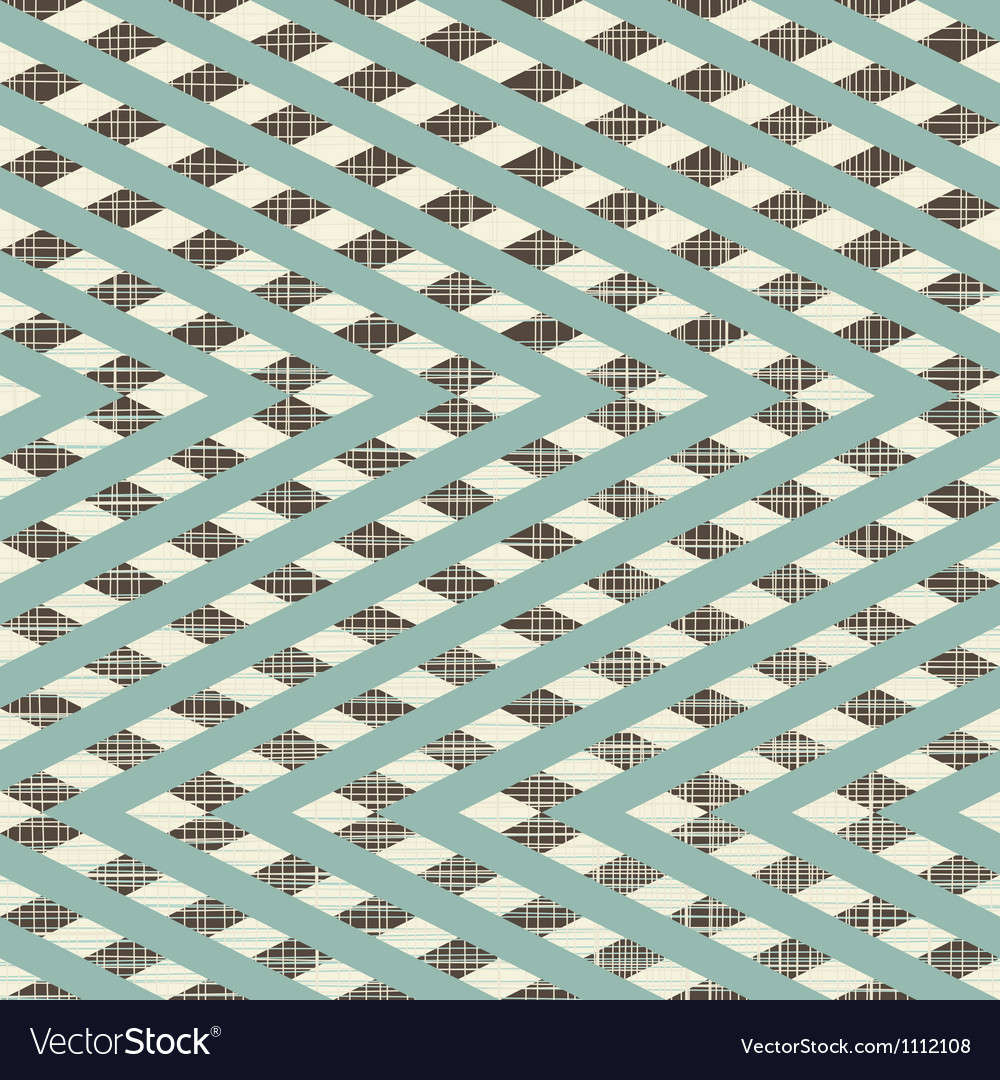 Zig zag patchwork pattern vector | Price: 1 Credit (USD $1)