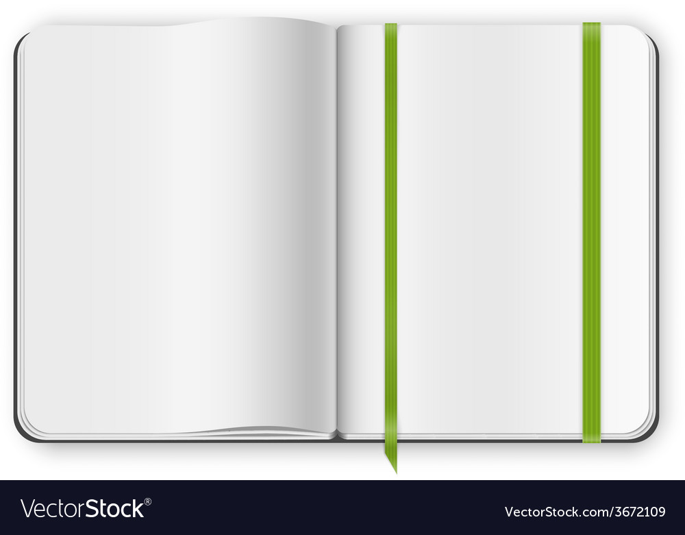 Copybook template vector | Price: 1 Credit (USD $1)