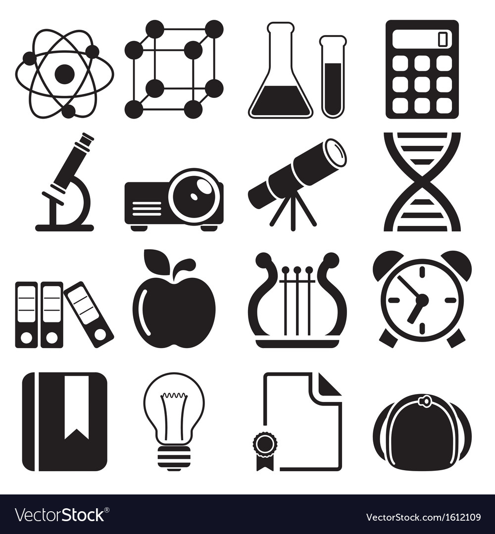 Education icons vol 2 vector | Price: 1 Credit (USD $1)