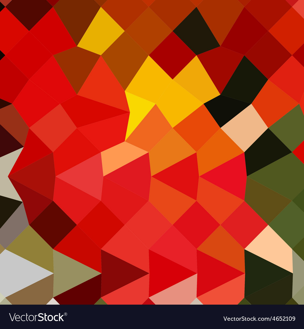 Lava red abstract low polygon background vector   Price: 1 Credit (USD $1)