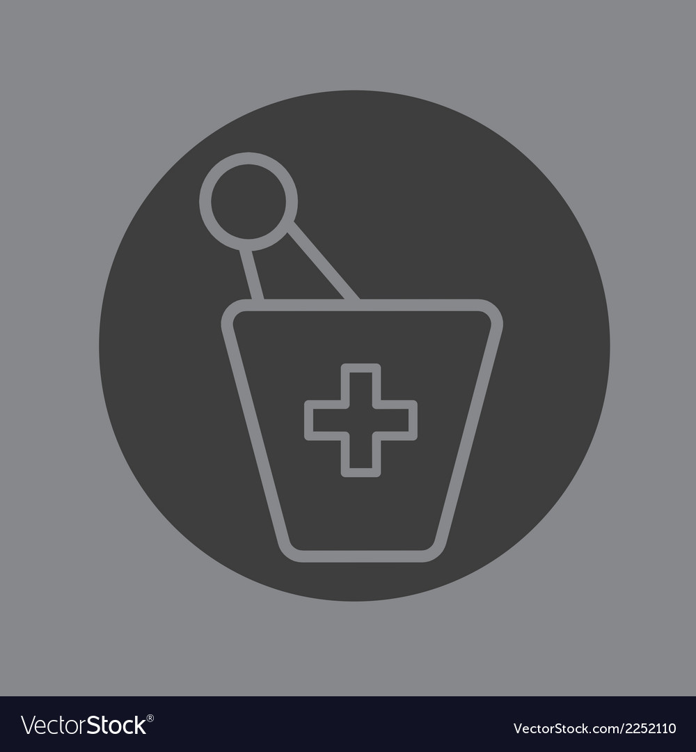 Pharmacy symbol vector | Price: 1 Credit (USD $1)