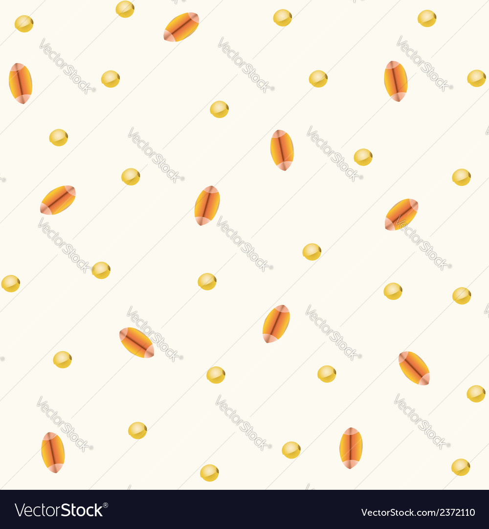 Seamless -corn wheat vector | Price: 1 Credit (USD $1)