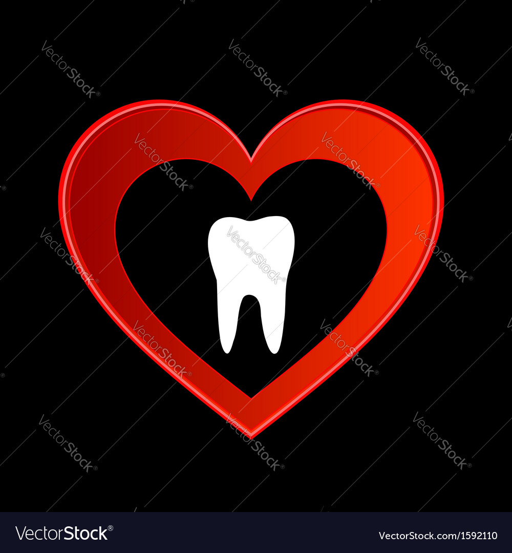 Tooth graphic vector | Price: 1 Credit (USD $1)