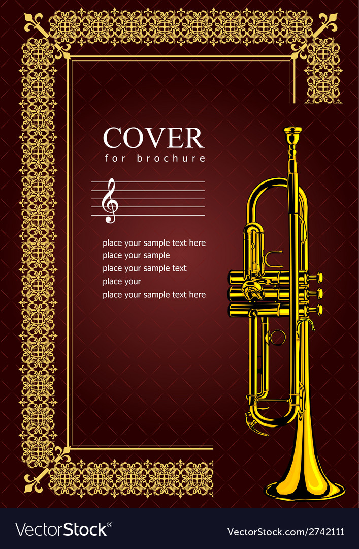 Al 0535 cover with trumpet vector | Price: 1 Credit (USD $1)