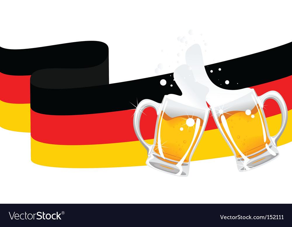 German beer vector | Price: 1 Credit (USD $1)