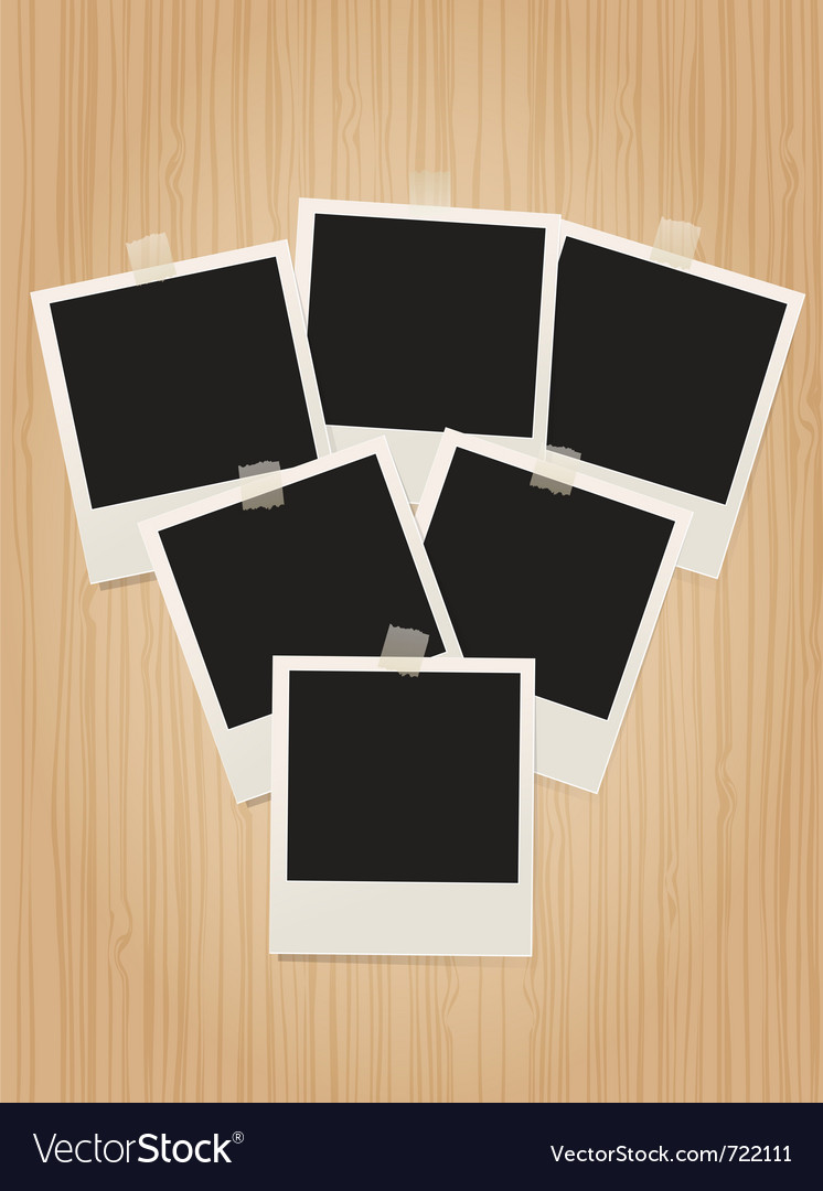 Polaroids vector | Price: 1 Credit (USD $1)