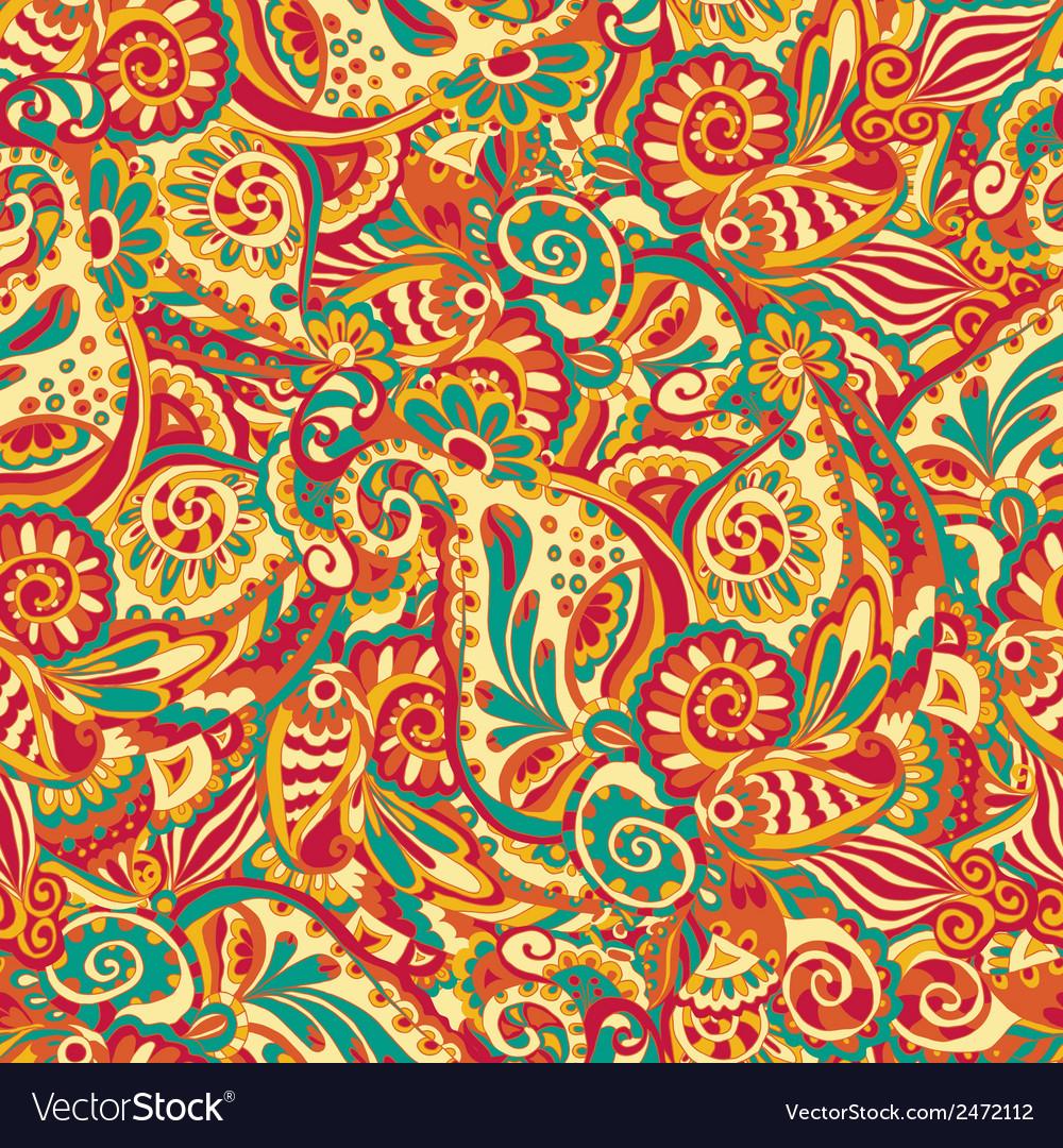 Ornamental seamless pattern vector | Price: 1 Credit (USD $1)