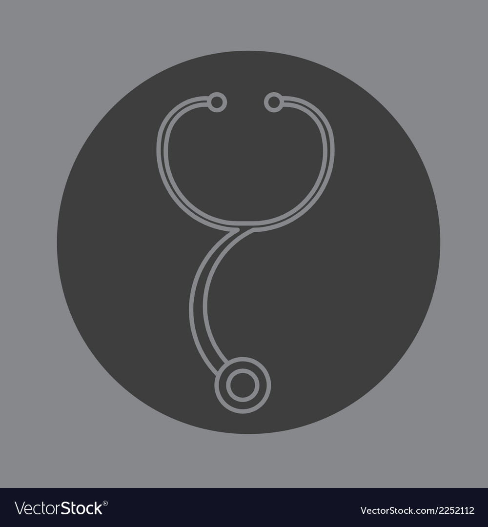 Stethoscope icon vector | Price: 1 Credit (USD $1)