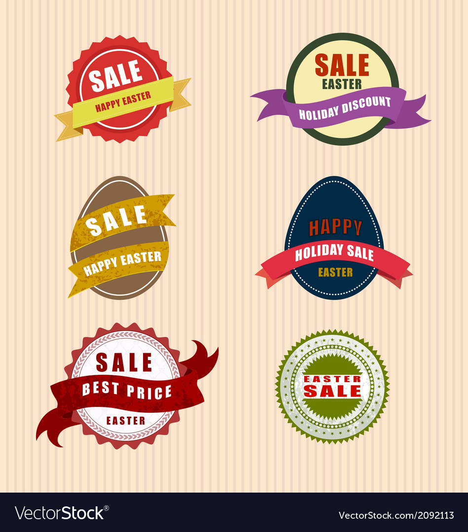 Happy easter sale vector | Price: 1 Credit (USD $1)