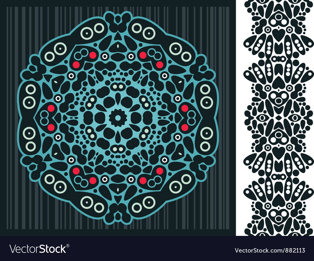 Kaleidoscope background vector | Price: 1 Credit (USD $1)