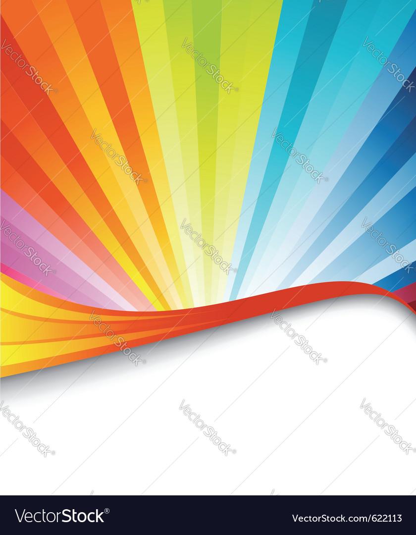 Rainbow birthday banner vector   Price: 1 Credit (USD $1)